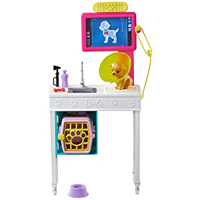Barbie Career Places Playsets - Pet Vet Office: Toys & Games