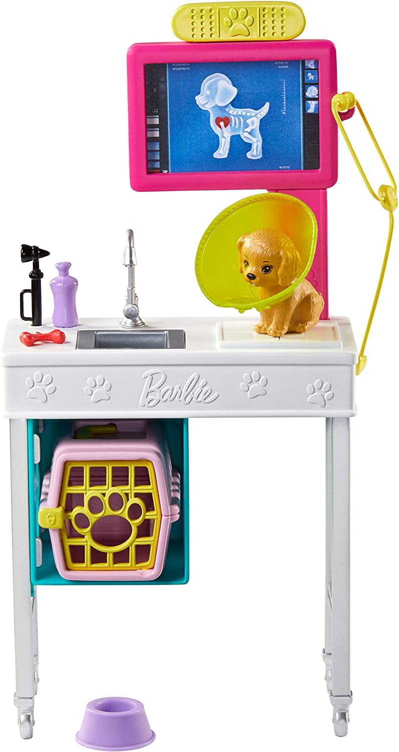 Barbie Career Places Playsets - Pet Vet Office