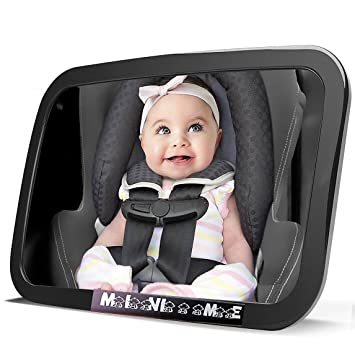 Baby Mirror Facing Back Car Seat for Infant Childs Toddler Rear Safety View~
