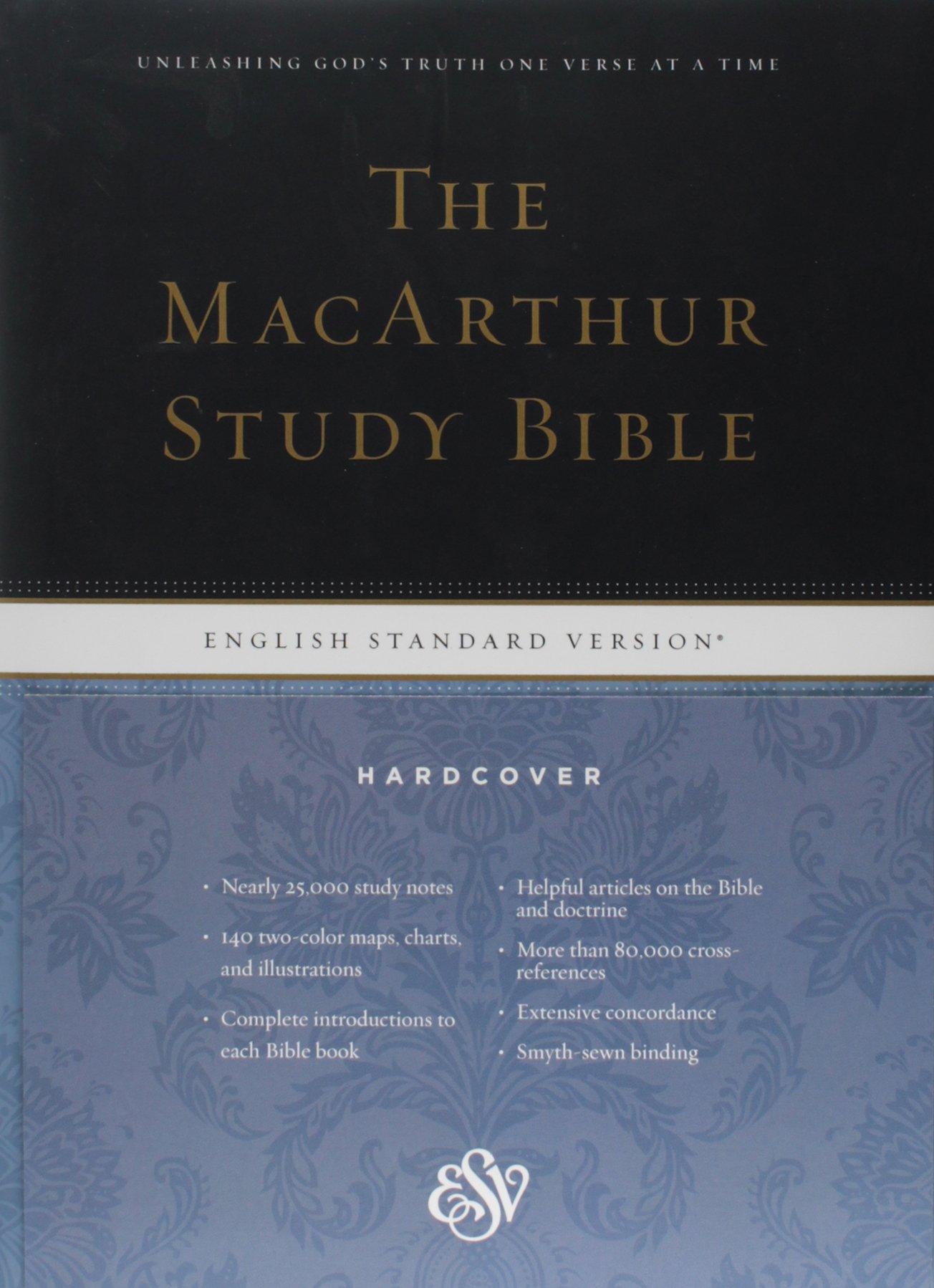 Esv macarthur study bible hardcover john macarthur 9781433504006 esv macarthur study bible hardcover john macarthur 9781433504006 amazon books fandeluxe Gallery