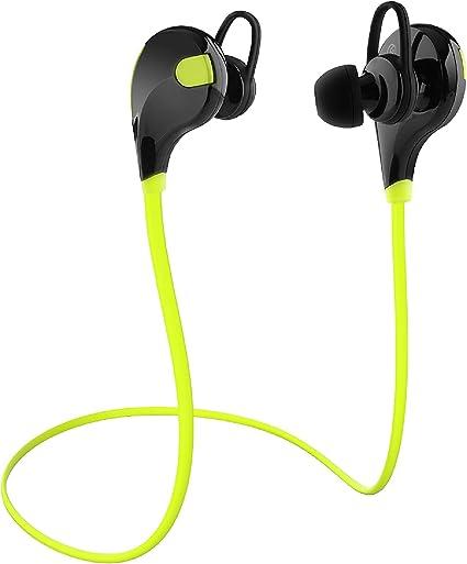 Coir Auriculares Auricular inalámbrico Bluetooth V4.1 sin Hilos ...