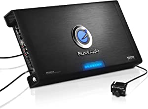 Planet Audio AC1800.5 5 Channel Car Amplifier - 1800 Watts, Full Range, Class A/B, 2-4 Ohm Stable, Mosfet Power Supply, Bridgeable