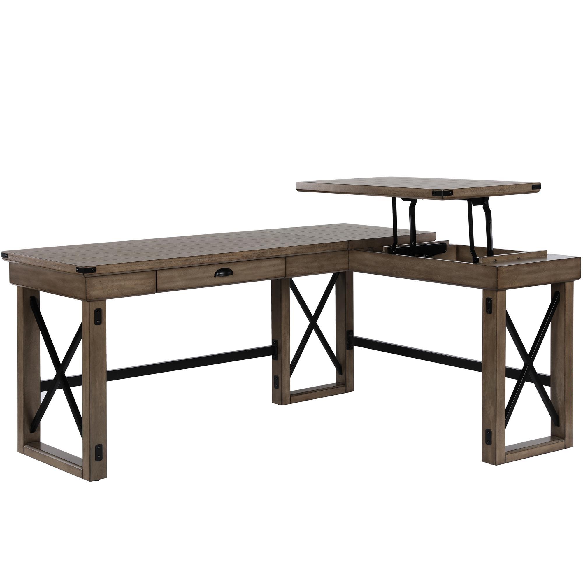 on sale 98ad5 aecbd Galleon - Ameriwood Home 9552096COM Wildwood L Shaped Desk