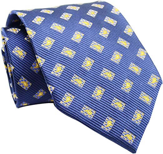 Corbata para hombre de seda de mora de la marca LKKLILY, 10 x 145 ...