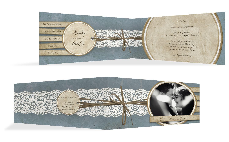 Hochzeit Dankeskarte Vintage Lace, 20 Karten, Hellbraun B07B6RBBPM   Verschiedene aktuelle Designs    Große Auswahl    Online-verkauf