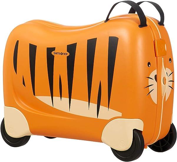 Valigia per bambini - samsonite dream rider , 51 cm, 28 l, arancione (tiger toby) 109640