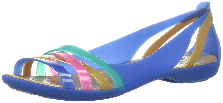 Crocs Isabella Huarache II Flat Women, Ballerine Punta Aperta Donna 204912