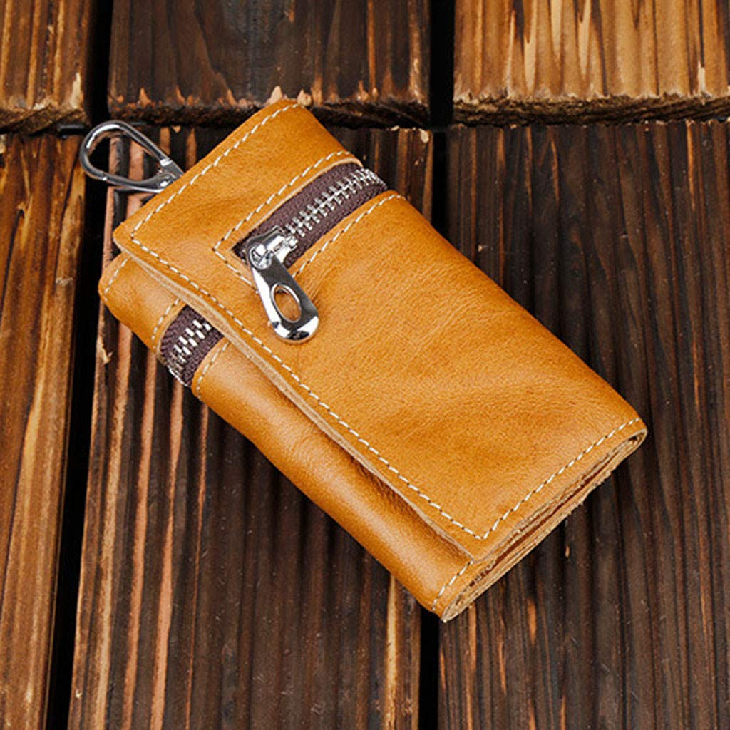 IAMUP Wallet with hand strap long business casual multi-function large capacity clutch bag purse