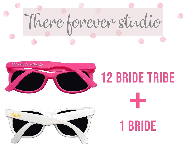 410c09471b98 Amazon.com  Bachelorette Party Sunglasses – 12 Pack Bride Tribe   Bridesmaid  Wedding Glasses Bulk  Health   Personal Care