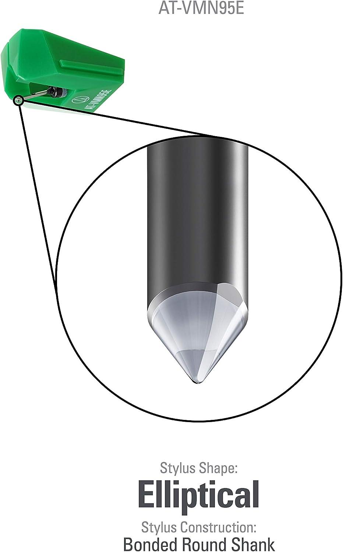 Audio-Technica AT-VMN95E - Lápiz óptico elíptico de Repuesto o ...