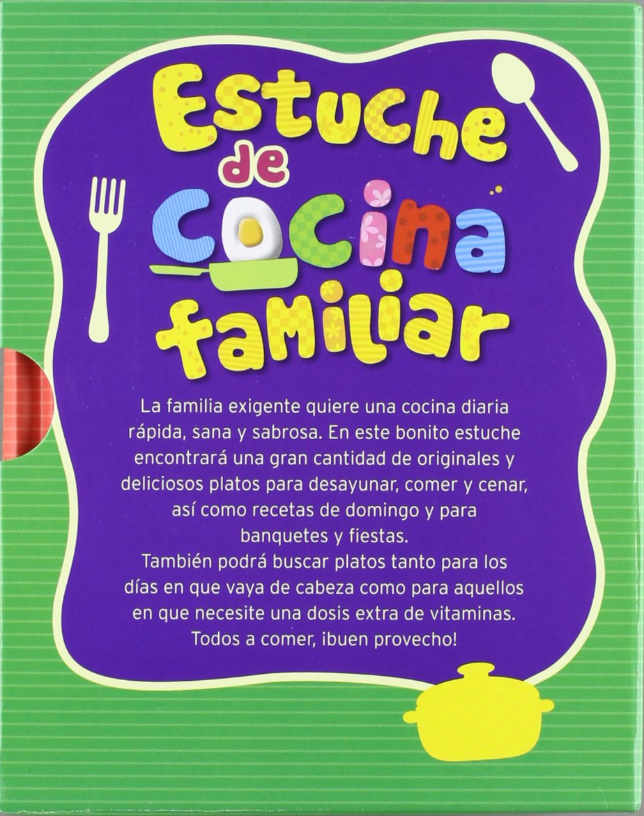 MINIESTUCHE DE COCINA FAMILIAR: EDITORIAL DE VECCHI S.A DE C.V: 9783625001812: Amazon.com: Books