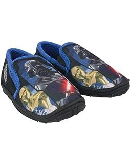 95860a10c6 Star Wars Darth Vader Boy s Slippers