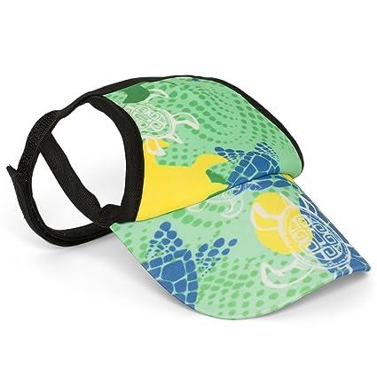 5f06a7d831a PlayaPup Dog Sun Protective Visor Hat