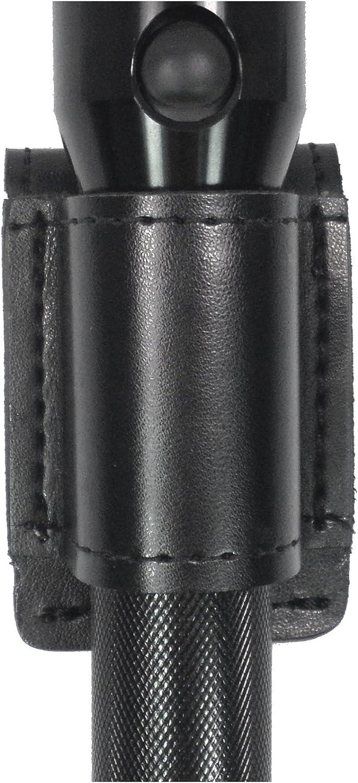 Gould & Goodrich K676-2 Flashlight Holder, Black, Size 2