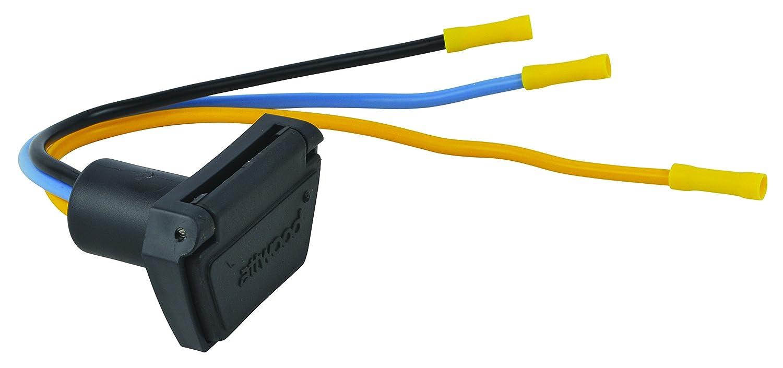 Attwood 7622 7 12v 24v 3 Wire Trolling Motor Connector 4 Prong Plug Wiring Diagram 10 Gauge Automotive