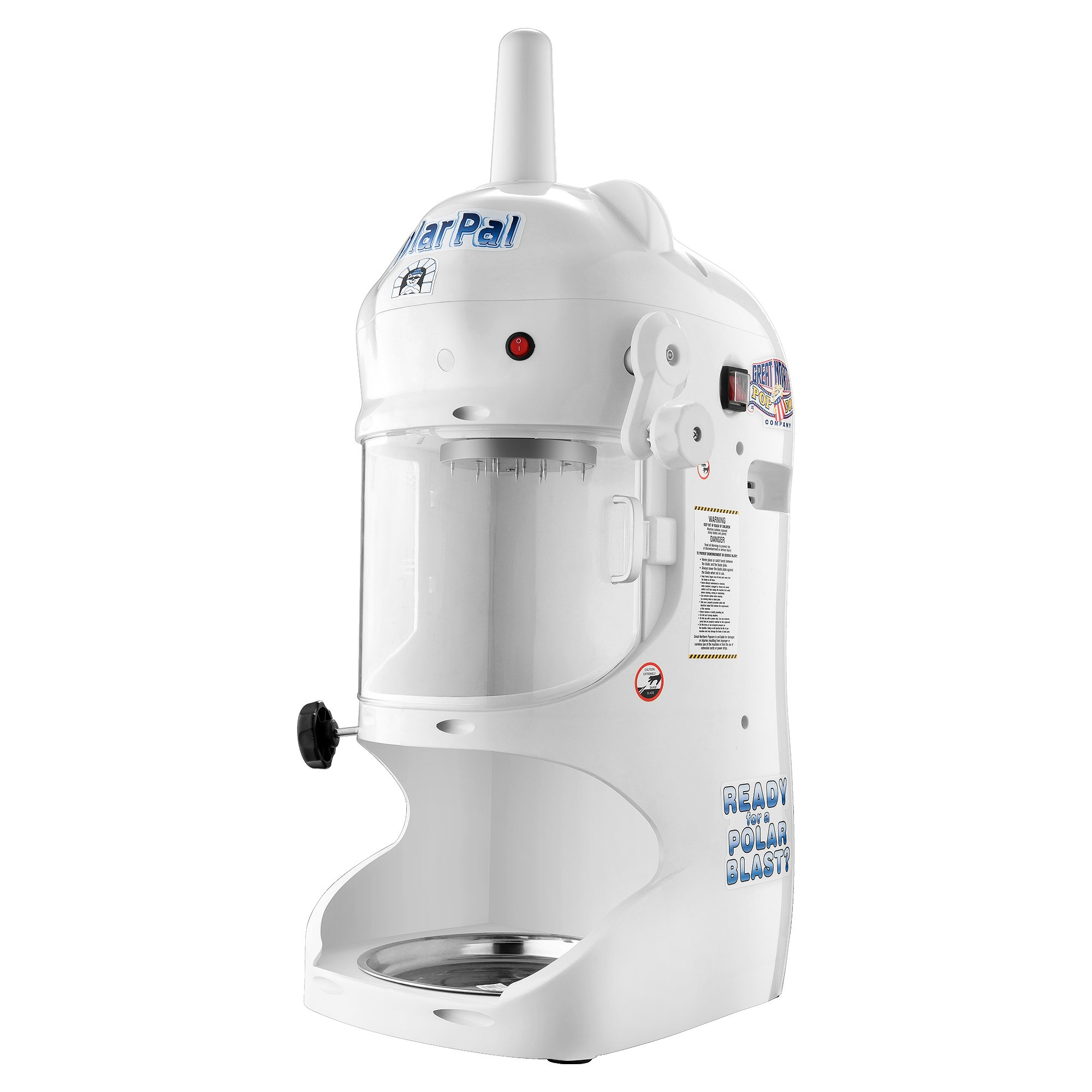 6060 Great Northern Polar Pal Block Ice Shaver and Snow Cone Maker by Great Northern Popcorn Company