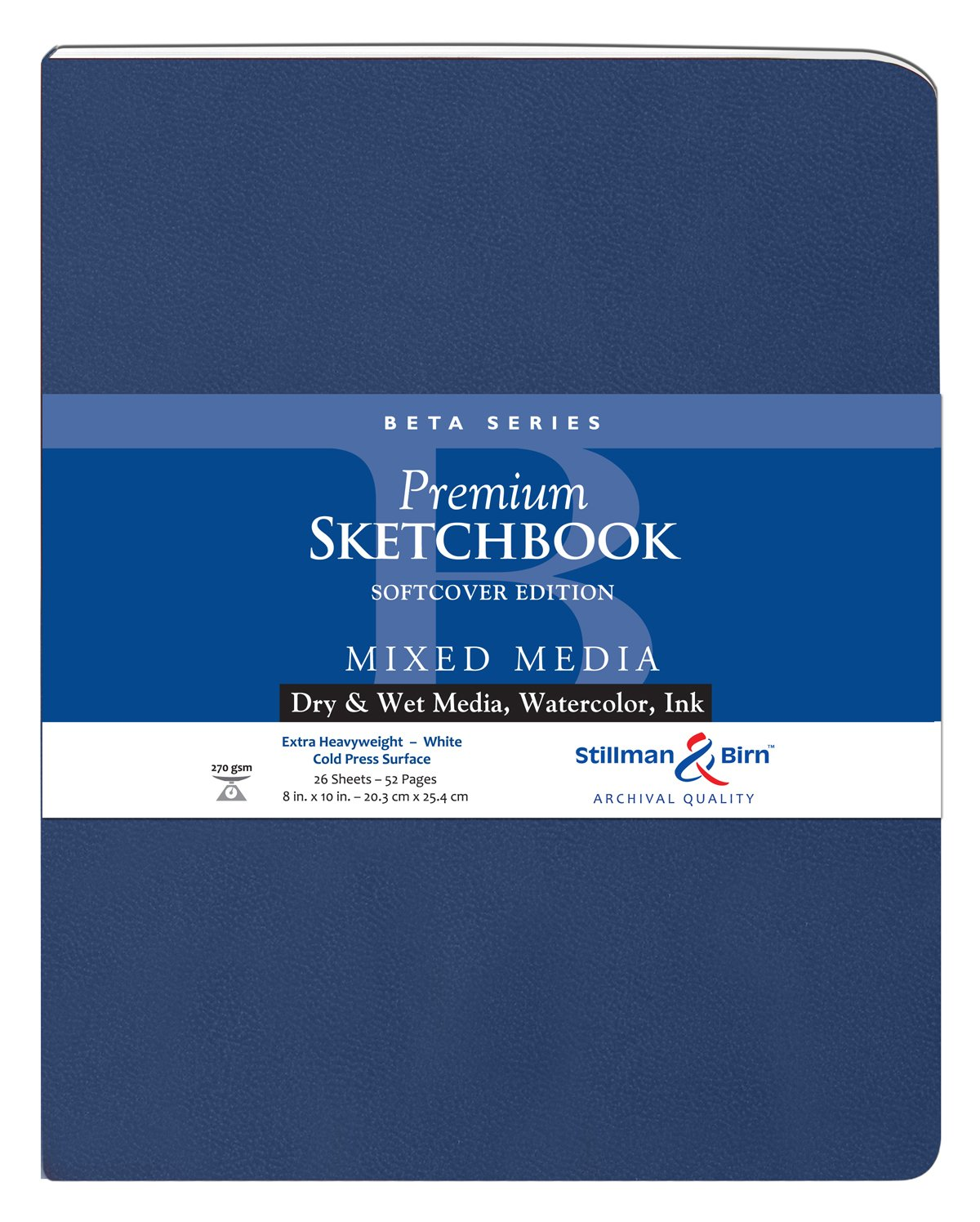 Beta Softcover Sketchbook 8X10 MACPHERSON 301810P