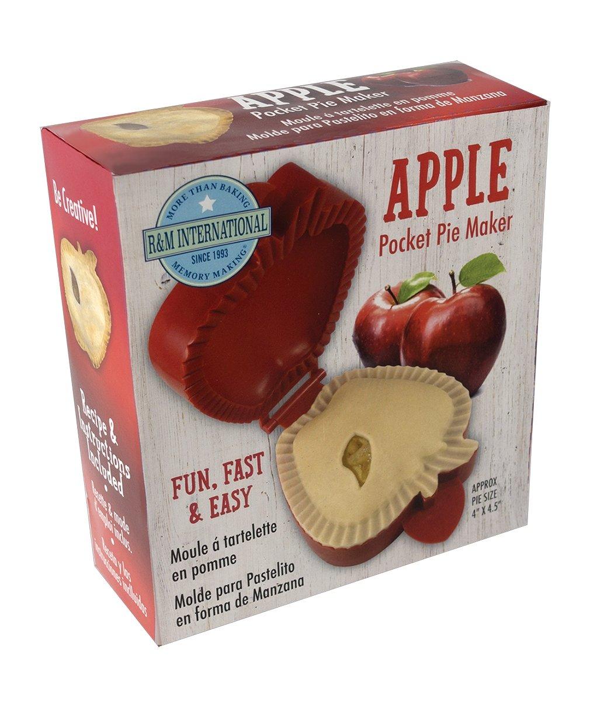 R&M International 2743 Pocket Pie Maker, Apple Shape, 5''