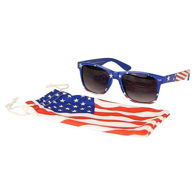 Amazon.com: Gafas de sol patrióticas de la bandera ...