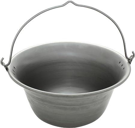 Ungarischer Gulaschkessel Gulaschtopf Topf Aus Eisen 6 Liter Amazon De Garten