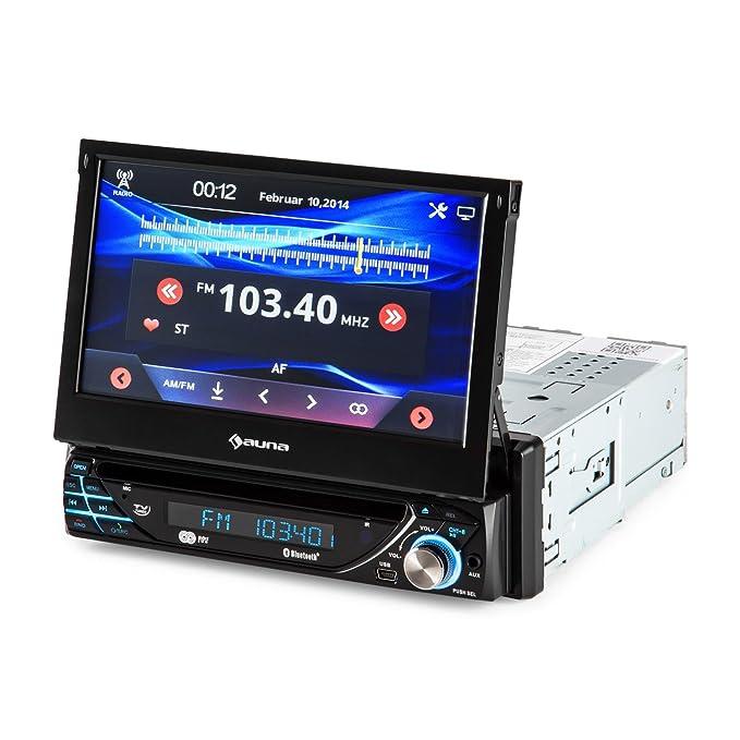 auna MVD-220 • Radio para Coche • Display tactil 7