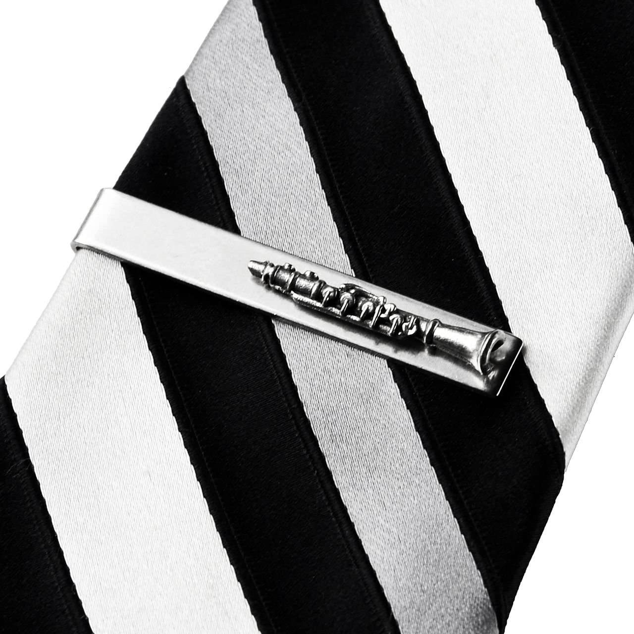 Quality Handcrafts Guaranteed Clarinet Tie Clip