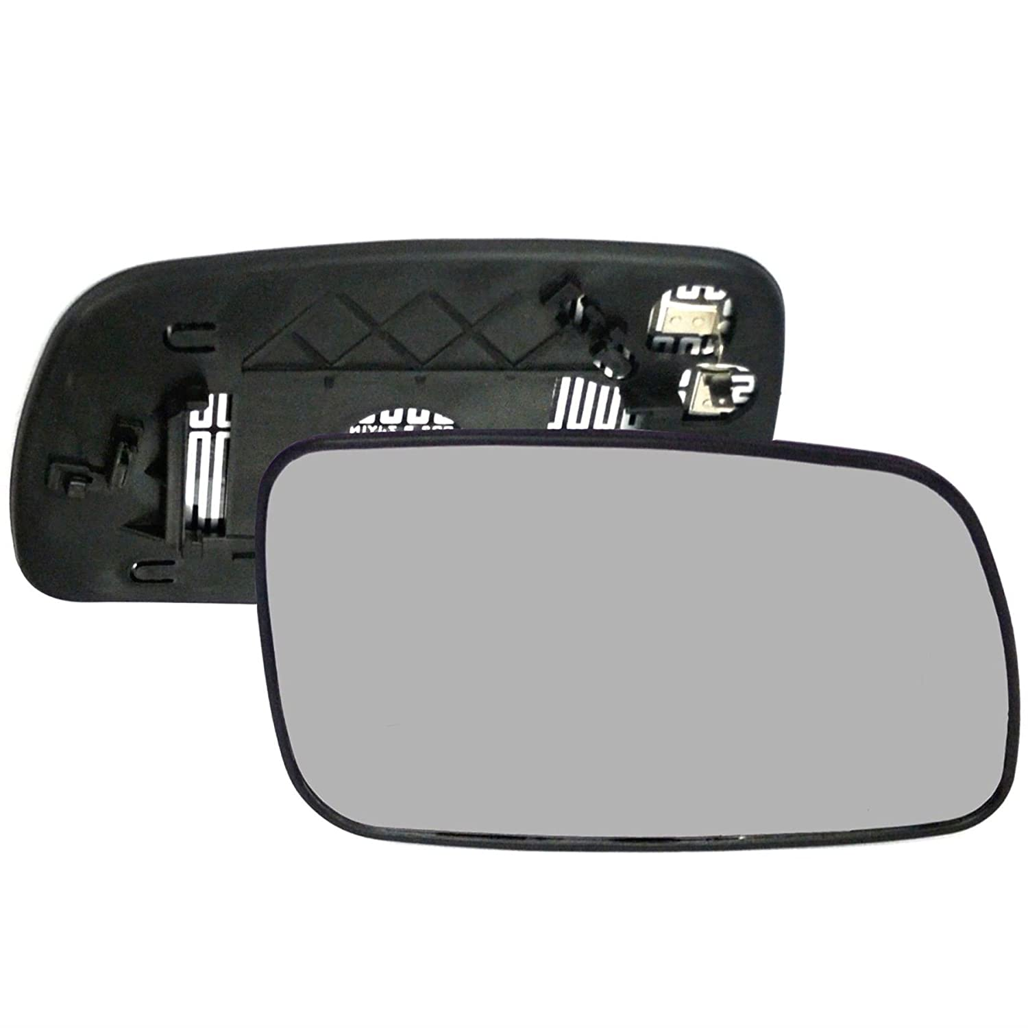 Driver right hand side Heated wing door Silver mirror glass with backing plate #C-SHY//R-TAAVS03 Clip On