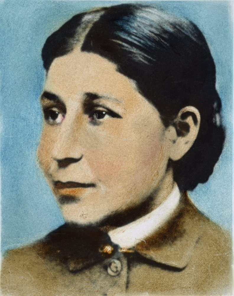 Susan La Flesche Picotte N 18 x 24 American Physician And Reformer Oil Over A Photograph Poster Print by 1865-1915