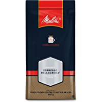MELITTA Dark Roast Espresso BellaCrema Whole Bean Coffee, 100% Arabica Coffee Beans, Premium Coffee, Kosher Certified, 907 g