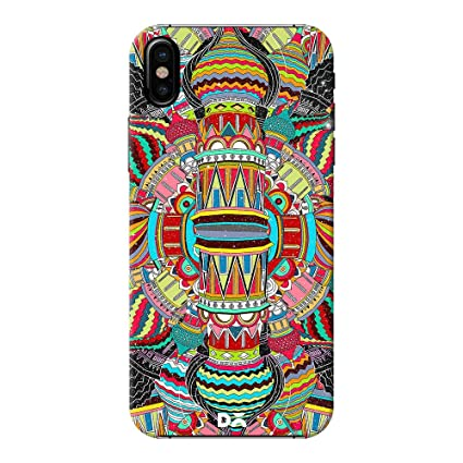 Dailyobjects Back Case Cover for iPhone X Color  Multicolor Mobile Phone Cases   Covers