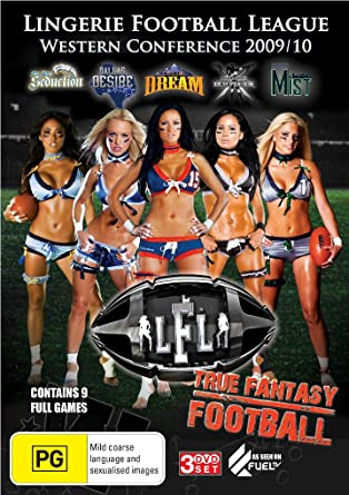 176577d4df Image Unavailable. Image not available for. Color  Lingerie Football League  - Western Conference 2009 + 10 Dvd