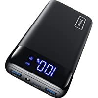 INIU Portable Charger, 20W PD3.0 QC4.0 Fast Charging LED Display 20000mAh Power Bank, Tri-Outputs Battery Pack…