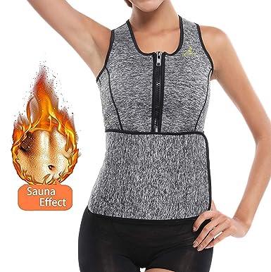fc6626ef5b Workout Waist Trainer Corset for Weight Loss Women Neoprene Sauna ...