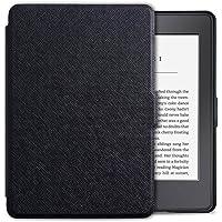 Gmatrixbasic® Kindle Paperwhite kılıfı–ince ve hafif PU Deri Smart Cover ile otomatik Sleep/Wake, tamamen yeni Kindle Paperwhite için (tüm sürümler: 2012, 2013, 2014ve 2015, tamamen yeni 300ppi sürümleri) için uygun GMKPBlack