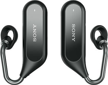 Sony Xperia Ear Duo – Auricular inalámbrico bluetooth Open Ear, color negro