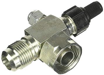 Cuatro Estaciones 12920 R12 Válvula de servicio del compresor de aire acondicionado,: Amazon.es: Coche y moto