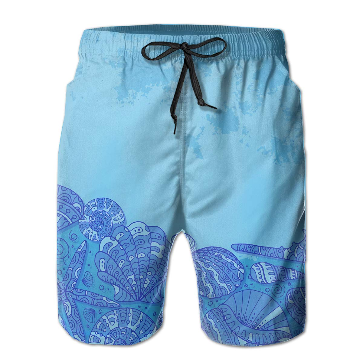 Rigg-pants Mens Comfortable Hawaii Beach Hiphop Cool Beach Shorts Swim Trunks Board Shorts