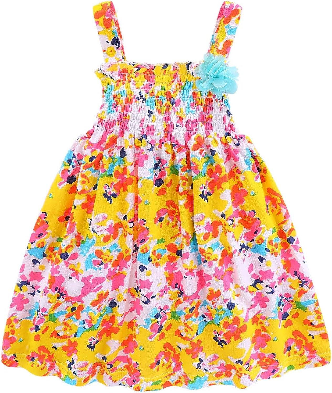 Girls Summertime Floral Sundress