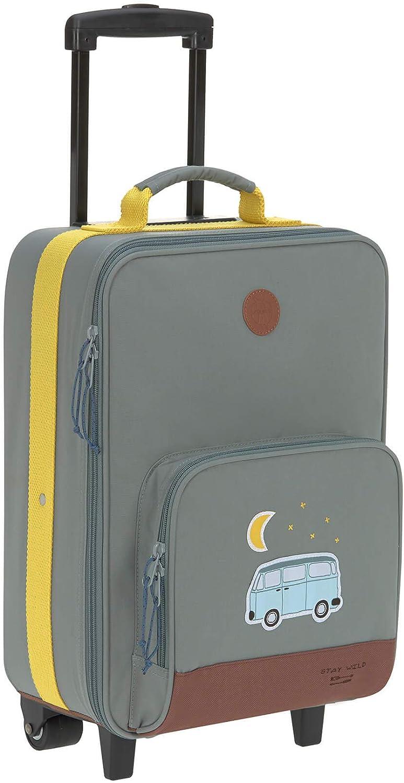 Suitcase with wheels L/ässig Kids Trolley lightweight travel luggage Adventure Bus