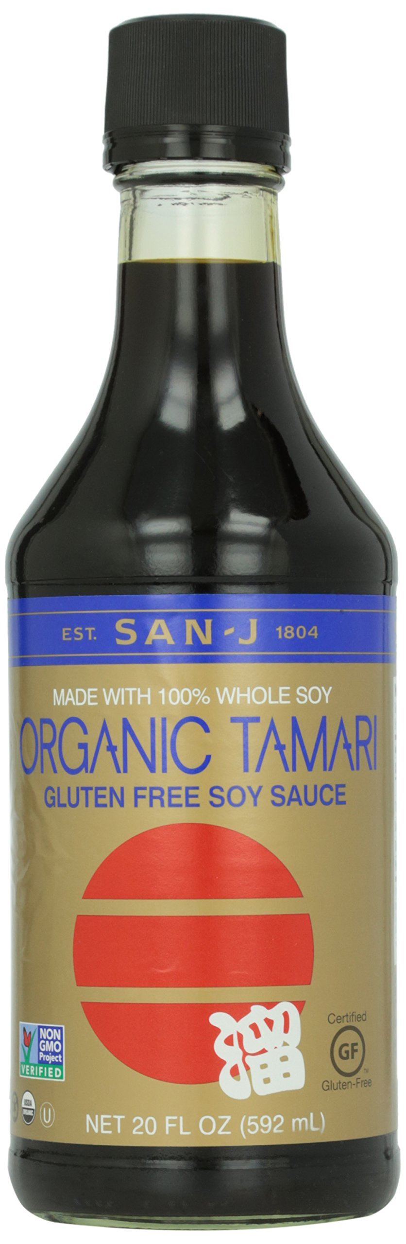 San-j Organic Tamari, 20 oz by San-J