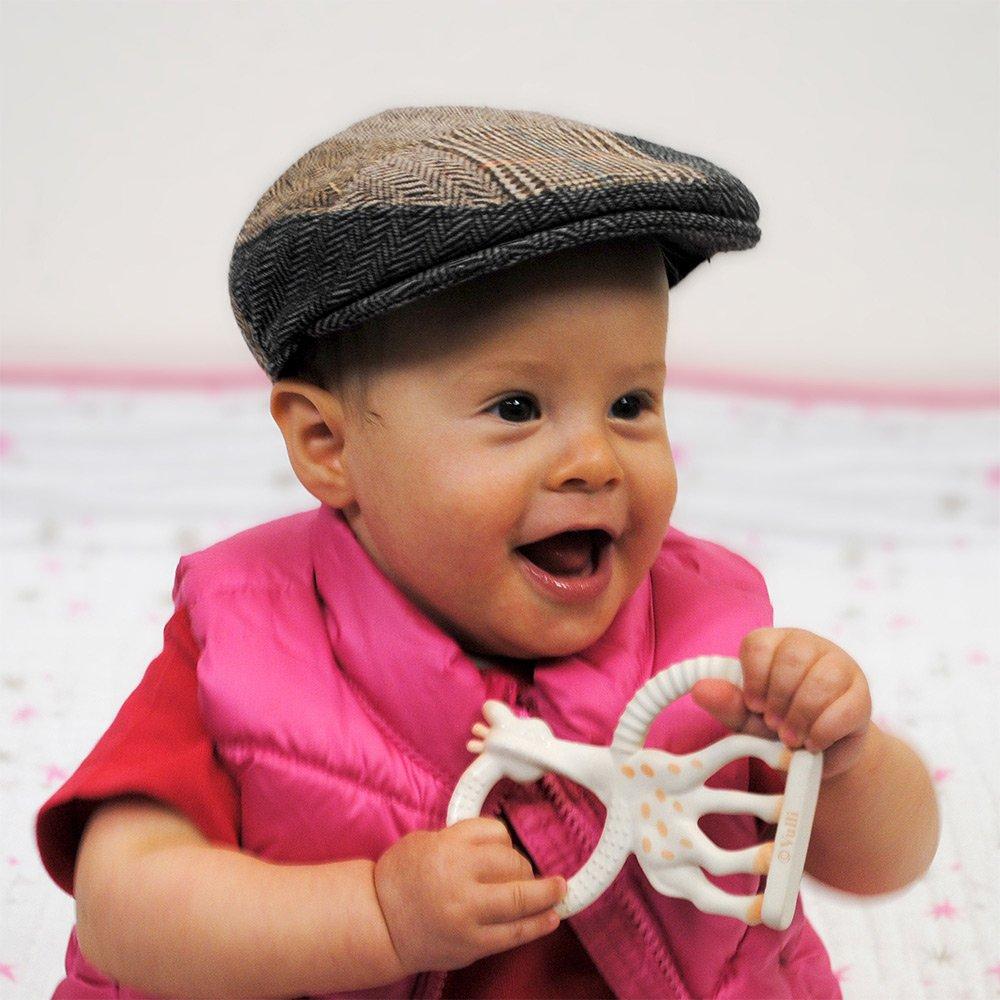 e02800461c7 Jaxon   James Baby Patchwork Flat Cap - Multi-coloured  Amazon.co.uk   Clothing