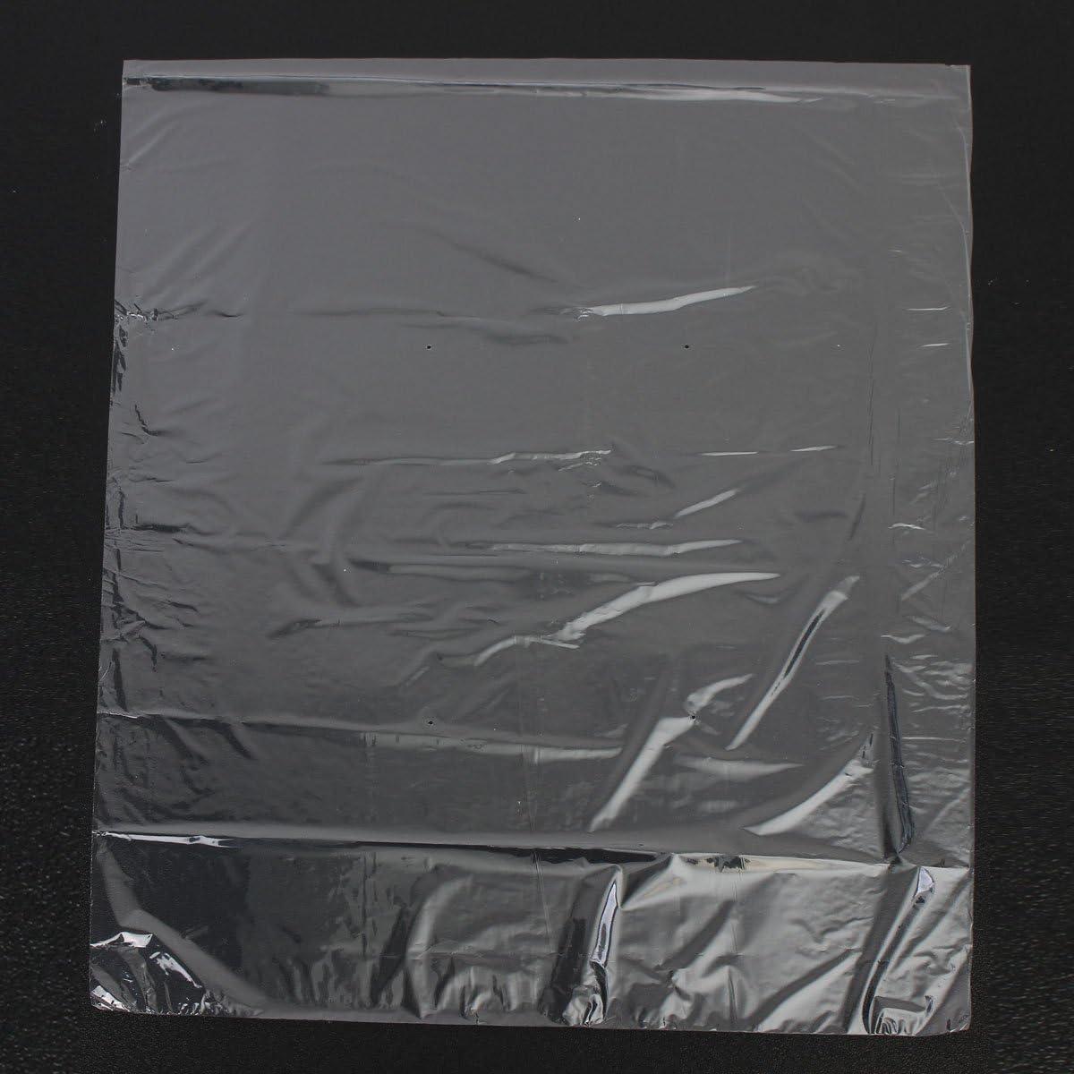 MYAMIA 50Pcs R/étractable Wrap Film /Étanche /À La Chaleur Claire Sacs De Savon Bougies Emballage 40x46Cm Seal Film