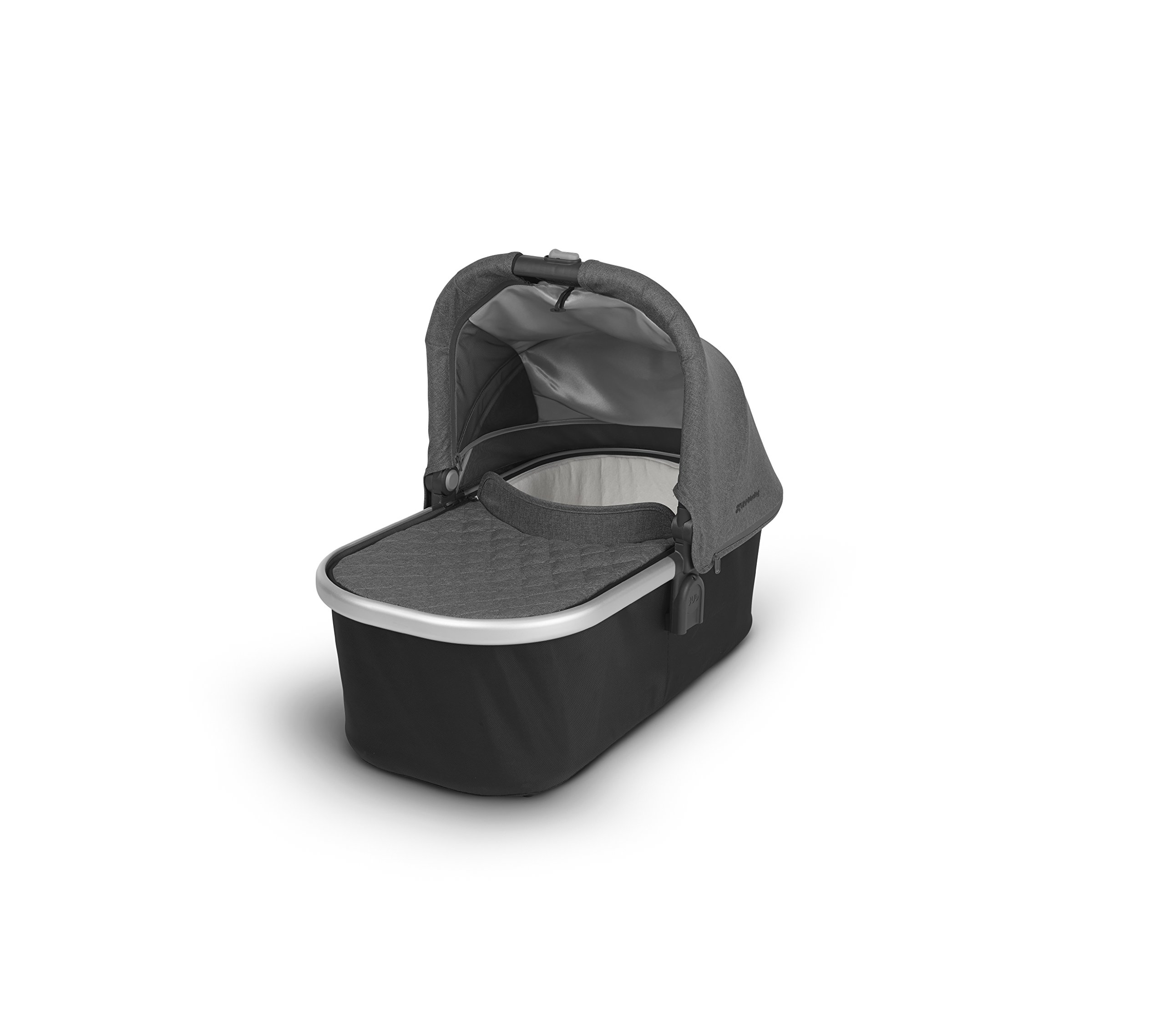 2018 UPPAbaby Bassinet- Jordan (Charcoal Melange/Silver) by UPPAbaby