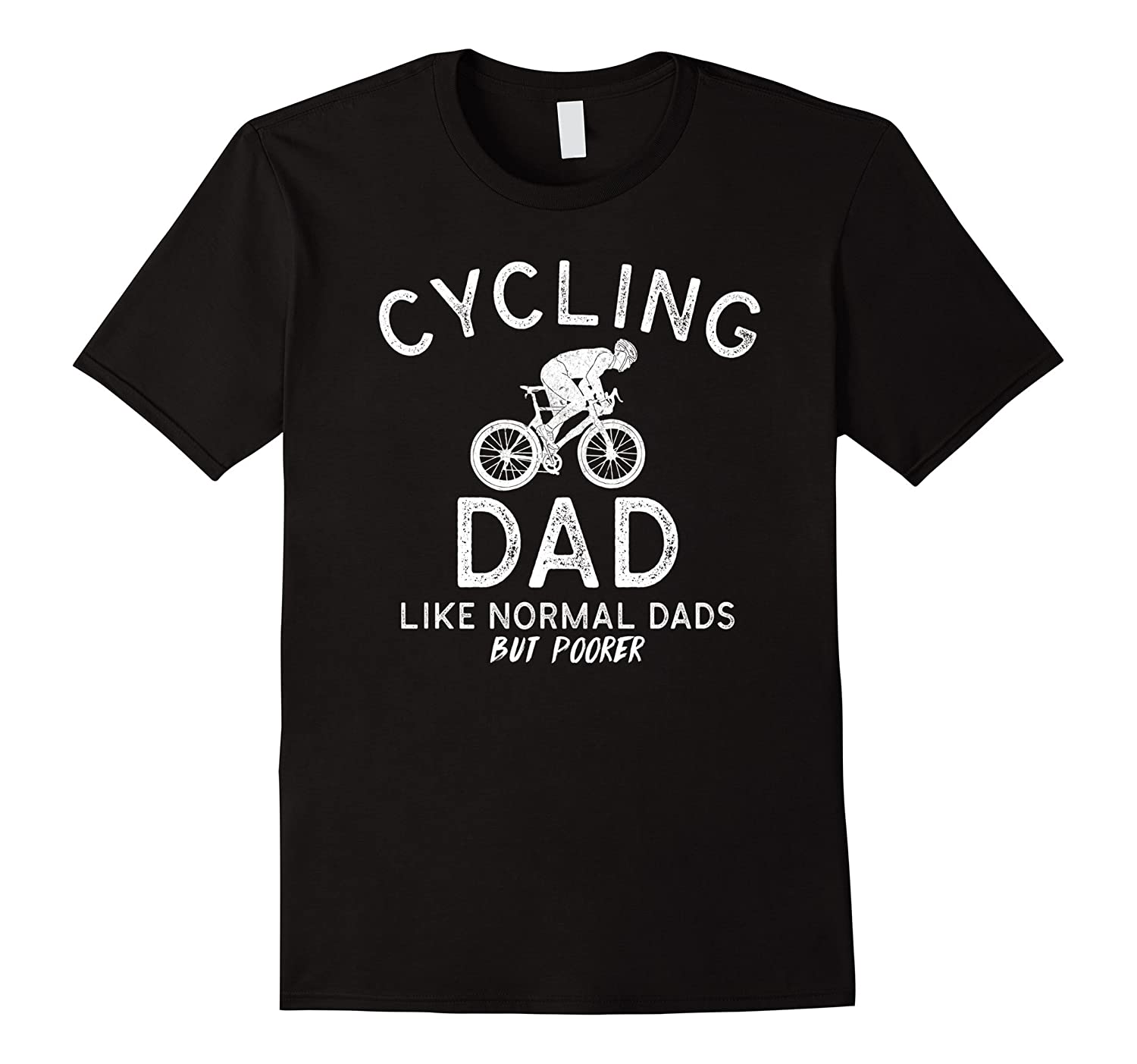 Mens Cycling Dad Cute Father's Day Gift T Shirt-Yolotee