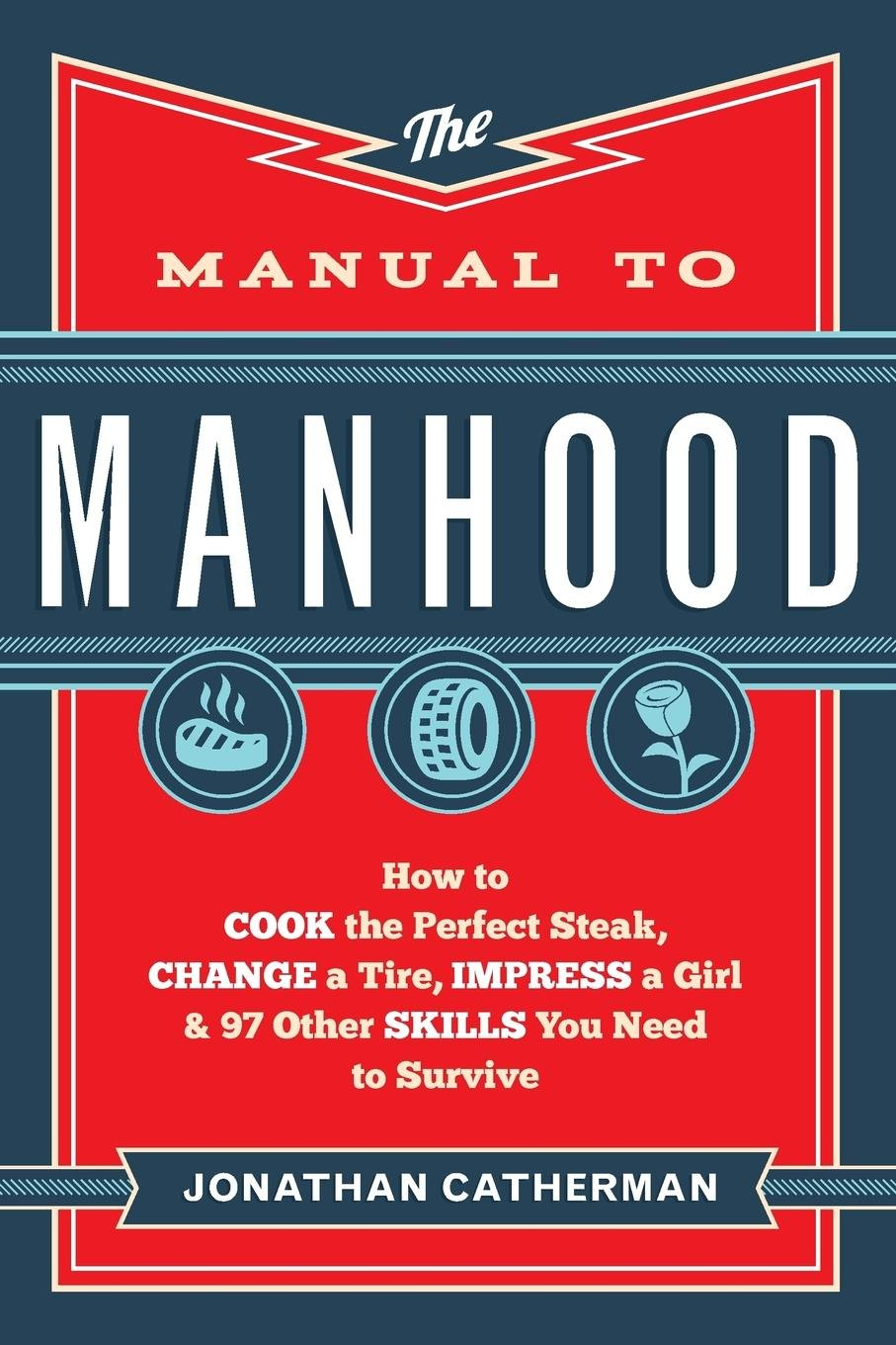Amazon.com: The Manual to Manhood: How to Cook the Perfect Steak, Change a  Tire, Impress a Girl & 97 Other Skills You Need to Survive (9780800722296):  ...