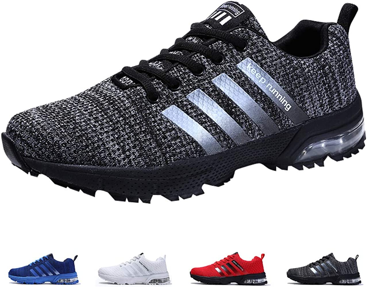 ZIITOP Zapatillas Hombres Deporte Running Zapatos para Correr Air ...