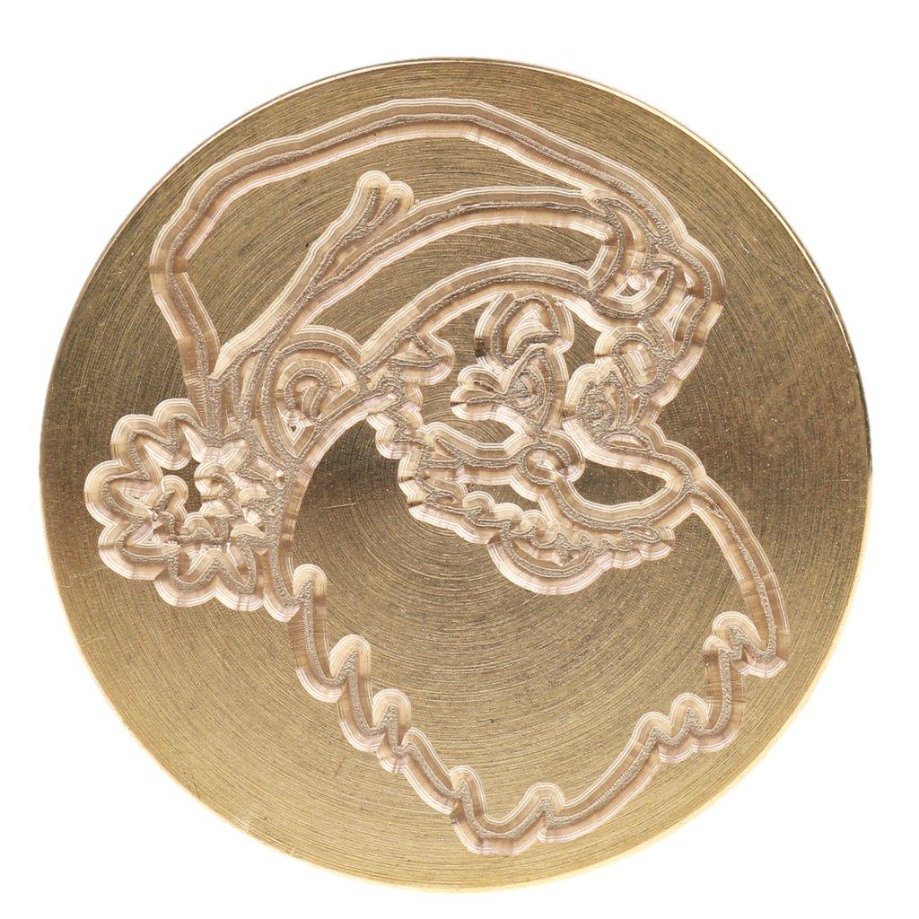 Sharplace Retro Sealing Wax Santa Claus Design for DIY Wedding Card Picture Logo Xmas Gift #18