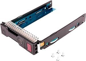 WALI LFF SAS SATA HDD Tray Caddy for HP 651314-001 651320-001 Gen8 Gen9 3.5 LFF Drive Tray DL380P DL360P DL160 DL560 DL385 G8 Exclusively