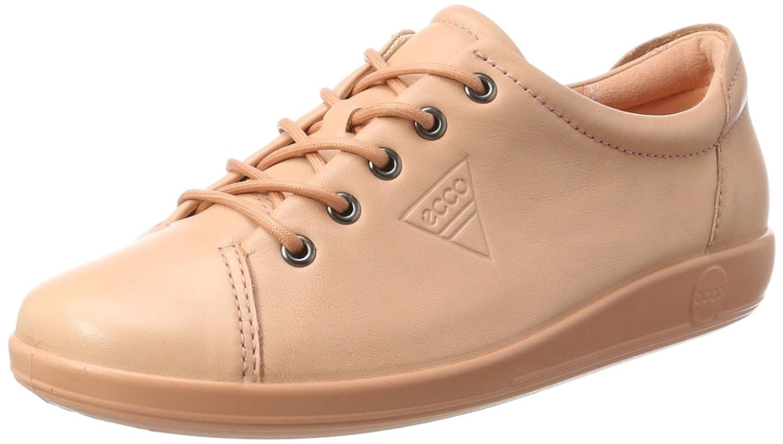 Ecco Soft 2.0, Zapatos de Cordones Derby para Mujer 43 EU|Beige (Muted Clay)