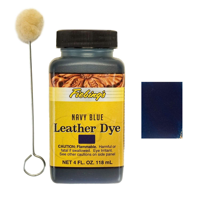 Fiebing's Navy Blue Leather Dye 4oz